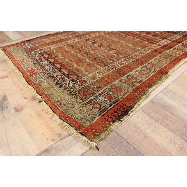20th Century Persian Sarab Rug - 3′8″ × 6′1″ For Sale - Image 4 of 6