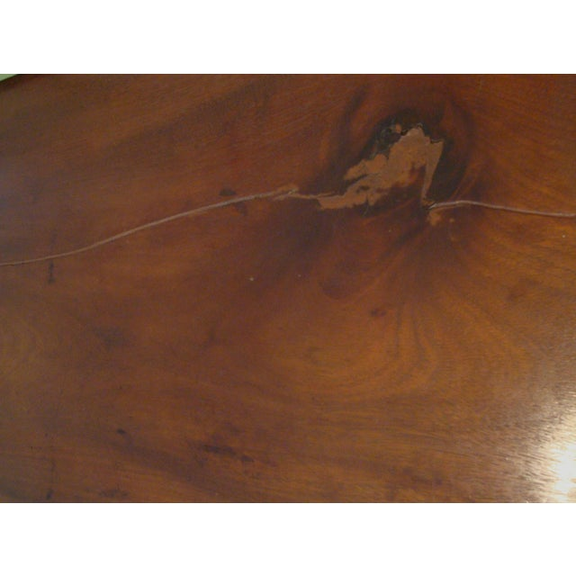 19thC Antique Burl & Walnut Empire Chest of Drawers For Sale - Image 9 of 12