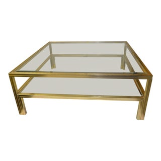 1980's Vintage Pierre Vandel French Coffee Table For Sale