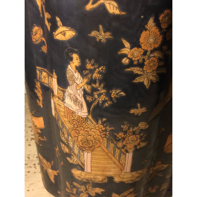 Late 19th Century Antique Chinese Ceramic Vase For Sale - Image 5 of 13