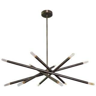 """Blueprint Lighting Model 120 """"Nest"""" Oil Rubbed Bronze Chandelier For Sale"""