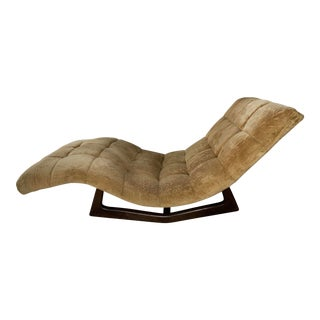 Adrian Pearsall Mid-Century Modern Rocking Chaise Lounge Craft Associate For Sale