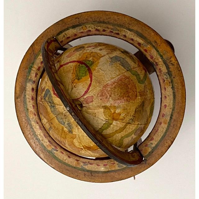 Vintage Artisan Fantasy Celestial Globe Antique Motif For Sale - Image 9 of 13