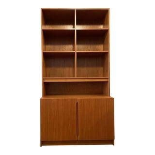 Vintage Danish Modern Teak Bookcase/Cabinet For Sale