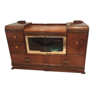 1930's Vintage Art Deco Sideboard For Sale