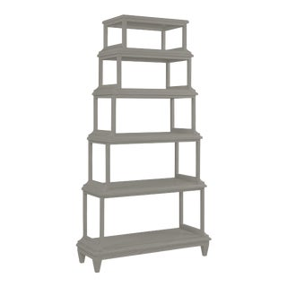 Jules Etagere, Chelsea Gray For Sale