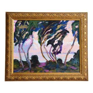 Juan Pepe Guzman Ventura California Landscape Seascape Painting For Sale