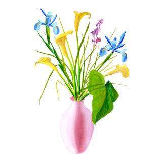 Contemporary Painting, Spring Bouquet For Sale