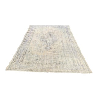 "Oversize Antique Handmade Turkish Carpet - 7' x 10'8"""