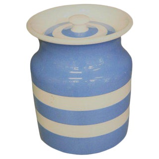 Cornishware Canister For Sale
