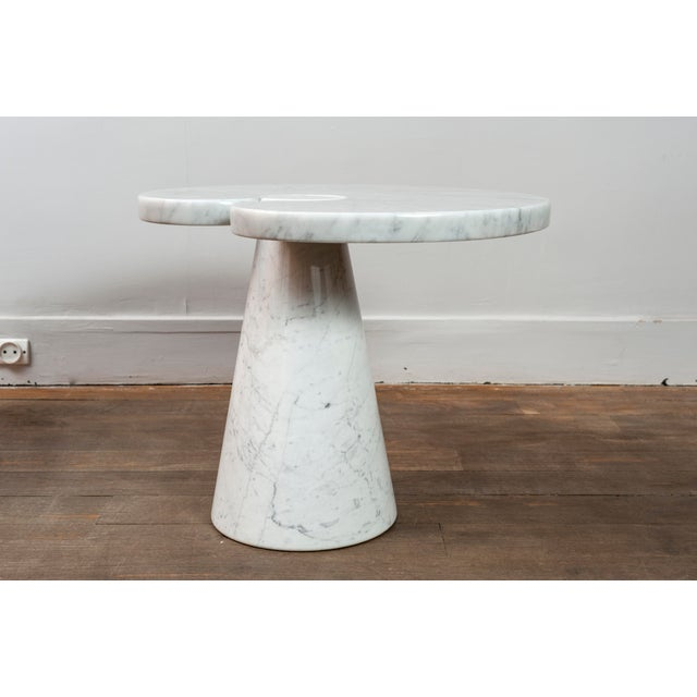 """Pair of Marble """"Eros"""" Tables by Mangiarotti For Sale - Image 10 of 11"""