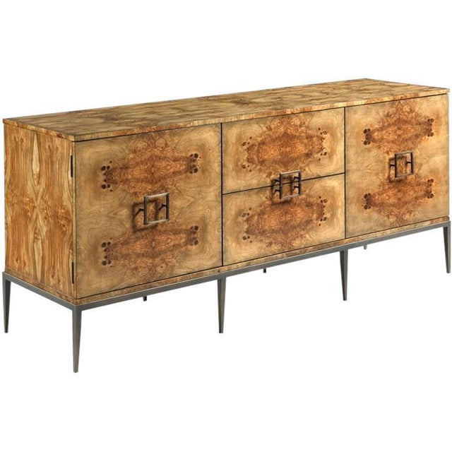 Woodbridge Furniture Woodbridge Tapered Leg Burton Sideboard For Sale - Image 4 of 4