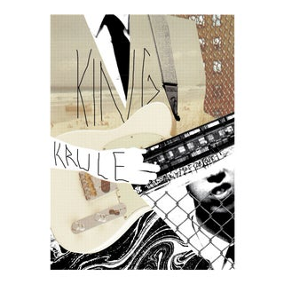 2017 Contemporary Music Poster - King Krule For Sale