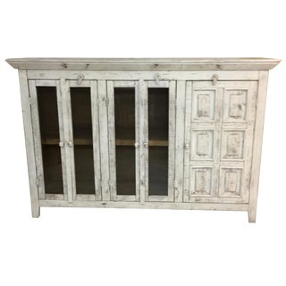 Rustic Shabby Side Board by TG Design For Sale