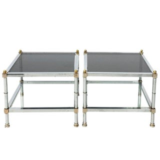 1970s Mid-Century Modern Side Tables - a Pair For Sale