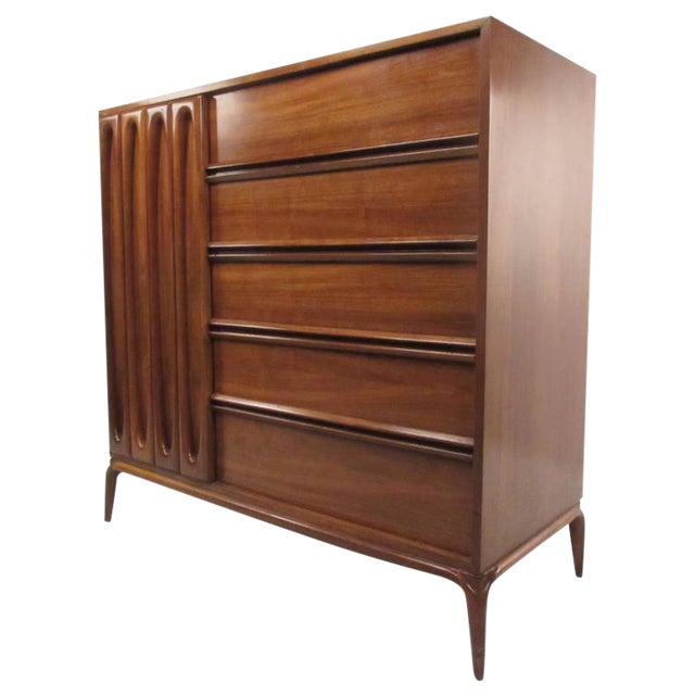 Vintage Modern Modern Bedroom Dresser For Sale