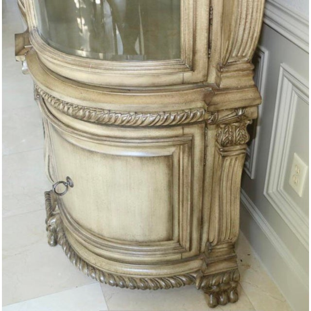 Baroque Baroque Style Illuminated China Cabinet For Sale - Image 3 of 13