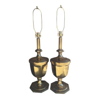 1960s Rembrandt Monumental Lamps - a Pair For Sale