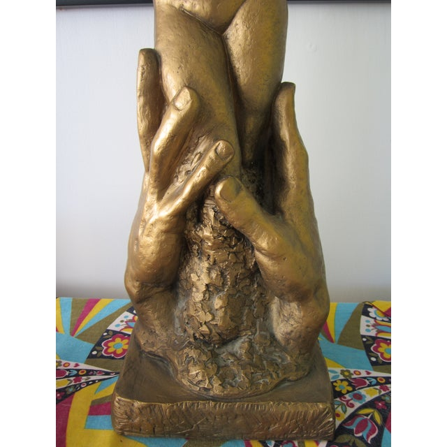 Mid-Century Marotta Plaster Nude Sculpture For Sale - Image 4 of 8