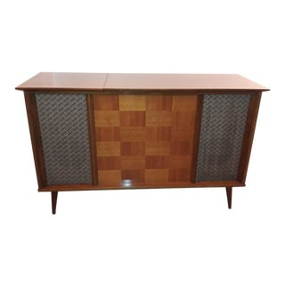 Vintage -20 Century Stereo Console For Sale