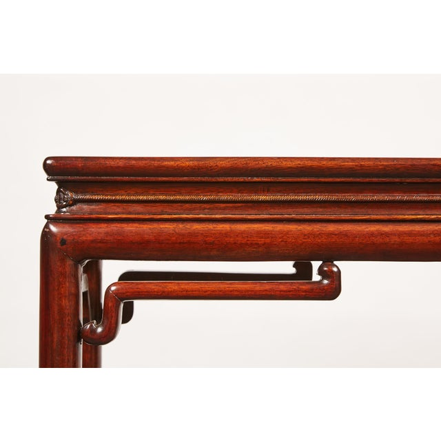 Chinese Rosewood Altar Table For Sale - Image 4 of 8