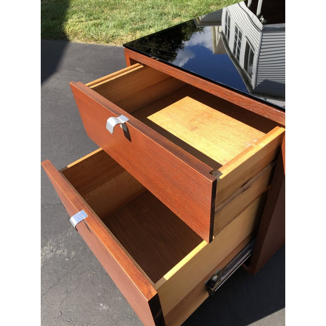 Wood 1950s George Nelson for Herman Miller Mid Century Modern Filing Cabinet For Sale - Image 7 of 13