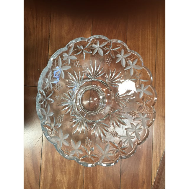Crystal Centerpiece Bowl - Image 5 of 5