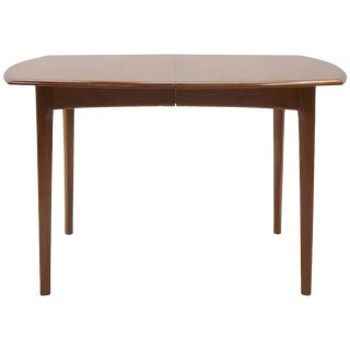Small to Large Expandable Teak Dining Table by H. W. Klein for Bramin For Sale