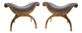 Image of Gold Leaf Stools