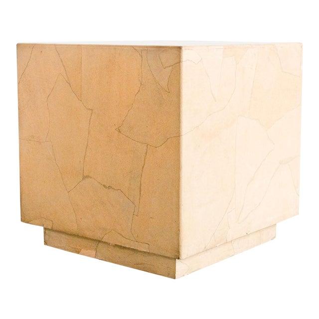 20th Century Modern Henredon Cube Side Table For Sale