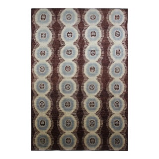 "Hand Knotted Ikat Rug - 10'2"" x 14'7"""