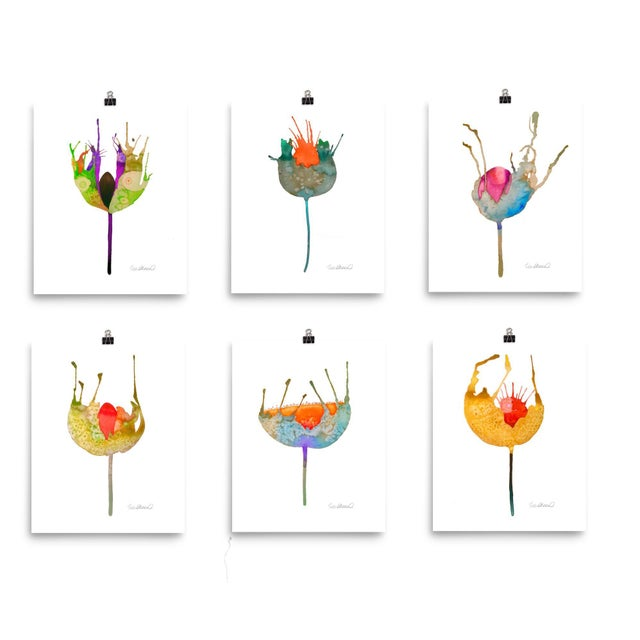 Botanical Prints - Set of 6 - Image 2 of 8