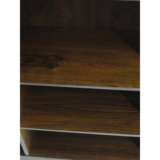 Danish Rosewood Bookcases by Omann Jun - a Pair For Sale In San Francisco - Image 6 of 8