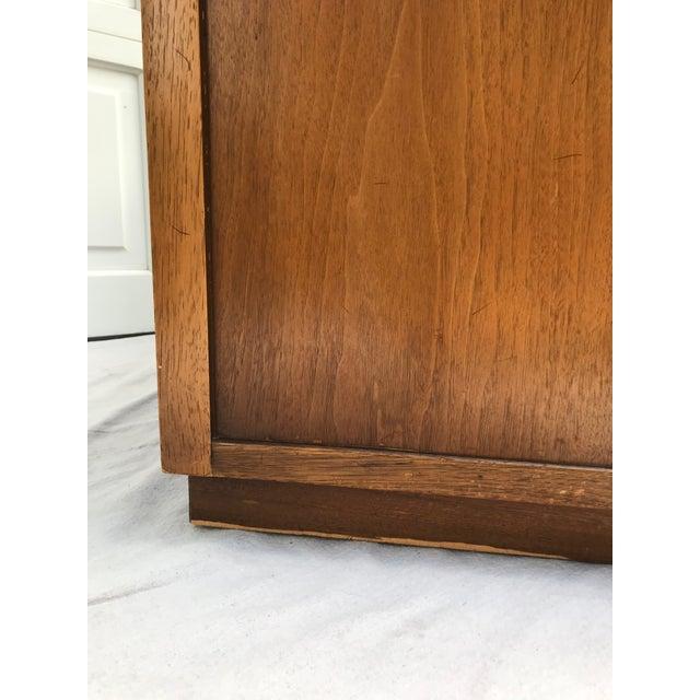 Brown Mid-Century Modern Drexel 4 Drawer Low Boy Dresser For Sale - Image 8 of 13