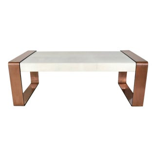 Shagreen Coffee Table For Sale