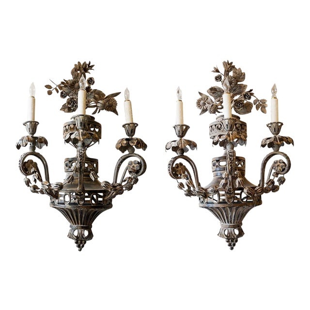 Pair of 19th Century French Sconces - A Pair For Sale