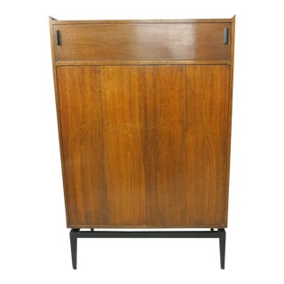 1960s Mid Century Modern McCobb-Style Walnut Highboy