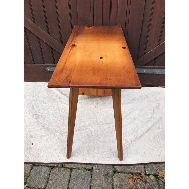 Pine Paul McCobb Planner Series Pine Desk For Sale - Image 7 of 11