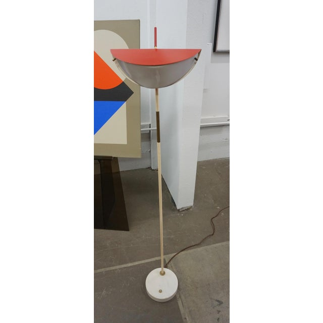Mid-Century Modern Italian Floor Lamp For Sale - Image 4 of 8