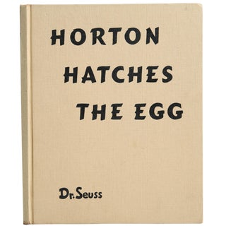 "1940 ""Horton Hatches the Egg"" Coffee Table Book For Sale"