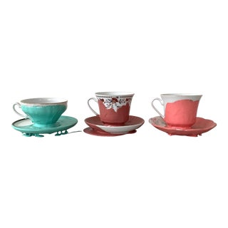 Rubber-Dipped Tea Cups For Sale