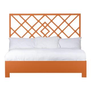 Darien Bed King - Orange For Sale