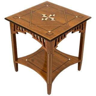 19th Century American Craftsman Walnut Side Table