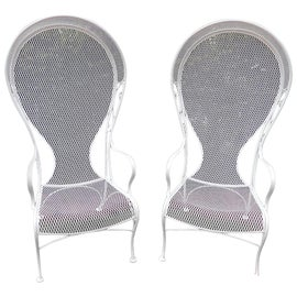 Image of Hollywood Regency Outdoor Chairs