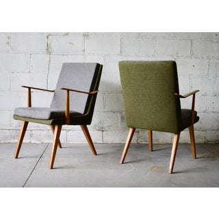 Pair of Mid Century Modern Armchairs Preview