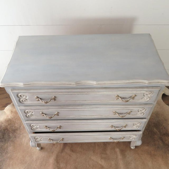 French Blue Commode - Image 5 of 11
