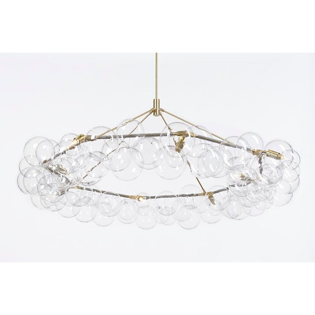 Pelle Wreath Bubble Chandelier For Sale In New York - Image 6 of 6