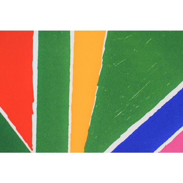 "Vintage Mid-Century ""Untitled"" Piero Dorazio Signed Serigraph Print For Sale - Image 9 of 10"