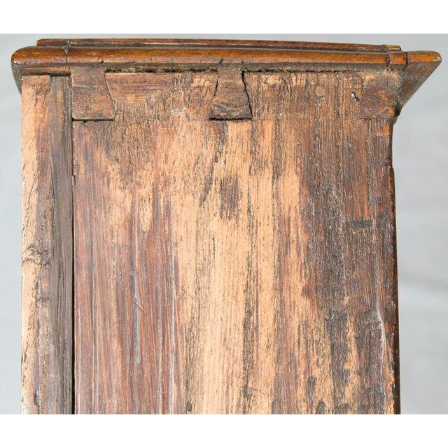 Late 19th Century 19th Century Victorian Period Light Oak Slant Front Bureau Secretary Desk For Sale - Image 5 of 13