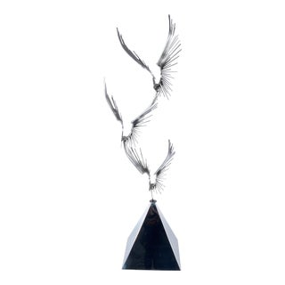 Curtis Jere' Eagles Sculpture For Sale
